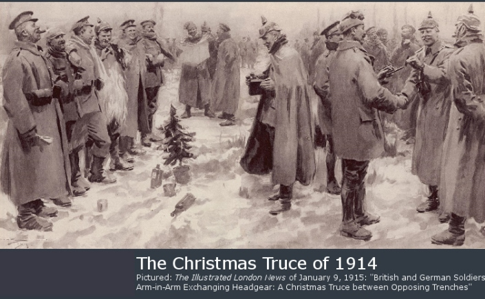 Christmas Truce Of 1914.1914 A Christmas Truce Born In A Herdsman S Shed