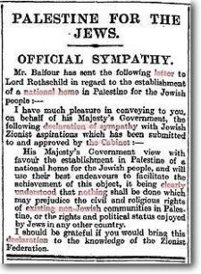 balfour-declaration