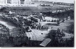 Arrival of Soviet troops