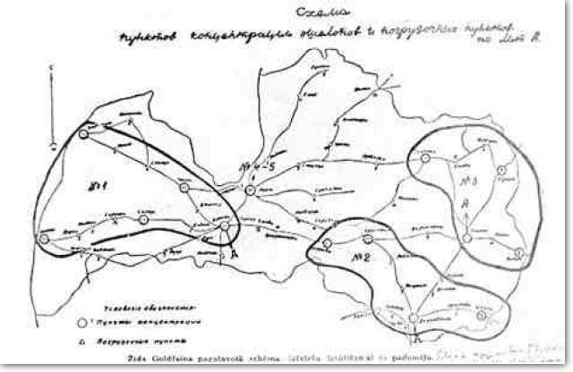 Bolshevik Deportation Map