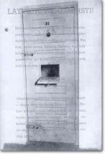 CHEKA Prison Door