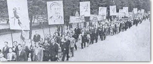 Communist Placards of Tyrants