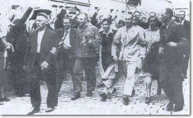 Newly Released Prisoners Parade