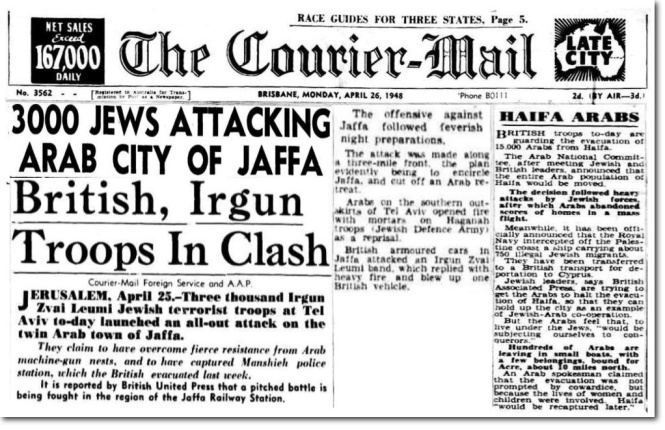 courier-headline-3000-jews-attacking-arabs