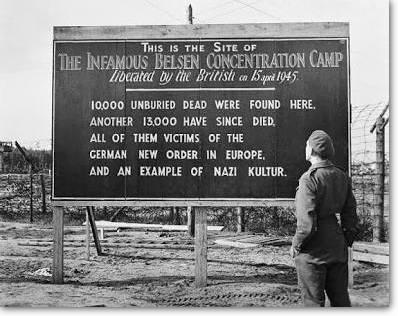Belsen sign