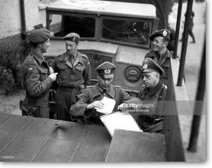 British 2nd Army at Belsen, April 1945