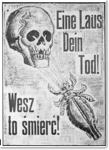 German camp sign