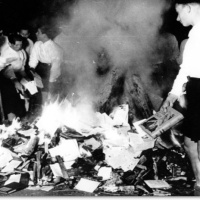 Book-Burning and All-lied Book Destruction Compared